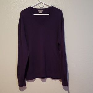 Daniel Cremieux Purple Sweater